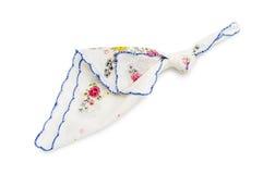 Mouchoir avec un noeud image stock
