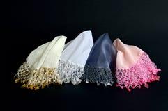 Mouchoir fait main utilisé pour danser sur un mariage turc Photographie stock