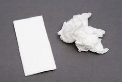 Mouchoirs en papier Photos libres de droits