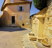 Mougins village, French riviera. Royalty Free Stock Photography