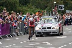 Mouhcine w Czas Olimpijskiej Próbie Lahsaini Zdjęcie Royalty Free