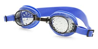Mouillez les lunettes de natation Images stock
