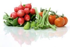 Mouillez les veggies assortis Photographie stock