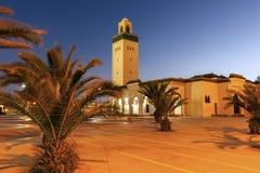 Moulay Abd el Aziz Mosque in Laayoune stock afbeelding