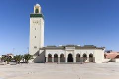 Moulay Abd el Aziz Mosque in Laayoune. Laayoune, Western Sahara, Morocco stock photos