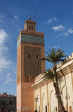 Moulay Al Yazid mosque, Kasbah, Marrakech. Stock Photos