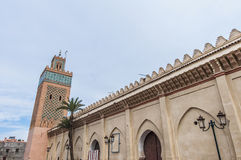 Moulay Al Yazid mosque at Marrakech, Morocco Stock Images