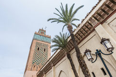 Moulay Al Yazid mosque at Marrakech, Morocco Stock Image