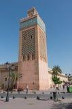 Moulay El Yazid Mosque in Marrakech, Marokko royalty-vrije stock fotografie
