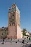 The Moulay El Yazid Mosque in Marrakesh, Morocco royalty free stock photography