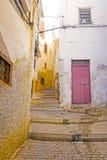 Moulay Idriss ist die heiligste Stadt in Marokko. Lizenzfreies Stockbild