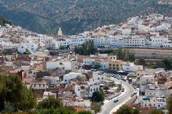 Moulay Idriss town, Morocco Stock Photography
