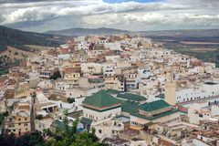 Moulay Idriss Town, Morocco Stock Images