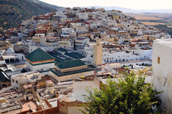 Moulay Idriss town near Volubilis - Morocco Stock Image