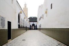 Moulay Idriss Zerhoun mausoleum near Meknes, Morocco Stock Photos