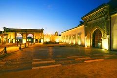 Moulay Ismail Mausoleum stock afbeeldingen