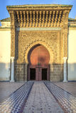 Moulay Ismail Mausoleum, Meknes, Marokko Royalty Free Stock Images