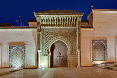 Moulay Ismail Mausoleum at Meknes, Morocco Royalty Free Stock Image