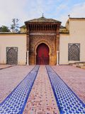 Moulay Ismail Mausoleum in Meknes, Morocco Stock Photos