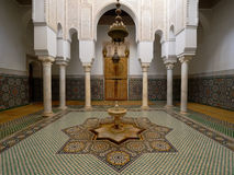 Moulay Ismail Mausoleum at Meknes, Morocco Royalty Free Stock Images