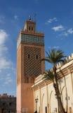moulay yazid för alkasbahmarrakech moské Arkivfoton
