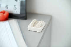 Mould at dental room Royalty Free Stock Images