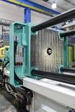 Moulding maskin för injektion Arkivbild