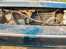 Mouldy старый автомобиль Стоковое Изображение