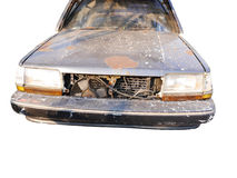 Mouldy старый автомобиль Стоковая Фотография RF
