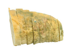 Mouldy bread Stock Photography