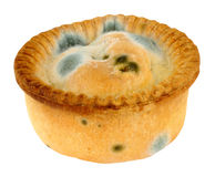 Mouldy Meat Pie Stock Images