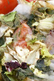 mouldy organic vegetable unhealthy to eat Stock Photo