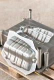 Moule métallique industriel avec la forme/matrice prêtes de fer Photographie stock