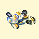moules illustration de vecteur
