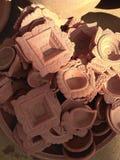 Moules de célébration de terre cuite Photographie stock