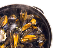Moules Mariniere Images stock