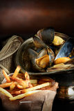 Moules Mariniere II Stock Image