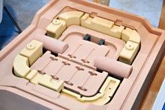 Moules pour les pièces de moteur de moulage Image stock
