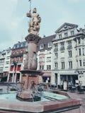 Moulhouse Frankrike royaltyfria foton