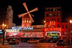 Moulin胭脂 免版税库存照片