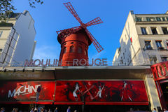 Moulin胭脂 免版税库存图片