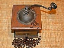 Moulin à café photographie stock