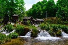 moulin à eau Image libre de droits