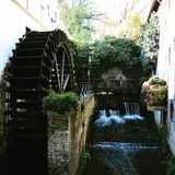 moulin à eau Photo libre de droits