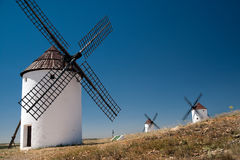 Moulin à farine. La Mancha Photo libre de droits