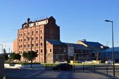 Moulin à farine reconstruit Photo stock