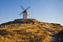 Moulin à vent à Consuegra image libre de droits