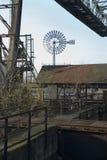 Moulin à vent à duisburg Image libre de droits