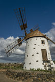Moulin à vent à Fuerteventura Image stock