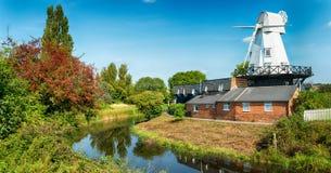 Moulin à vent à Rye Photos stock